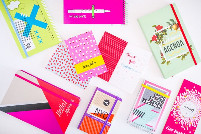 Inspira Stationery: agende, diari, quaderni e to do list da avere!