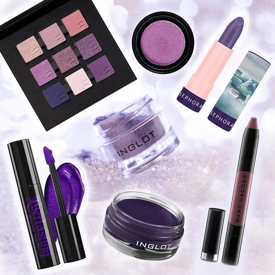 ultra-violet-composit-make-up-pantone-prodotti-rossetti-eyeliner-ombretti-viola-e-sfumature
