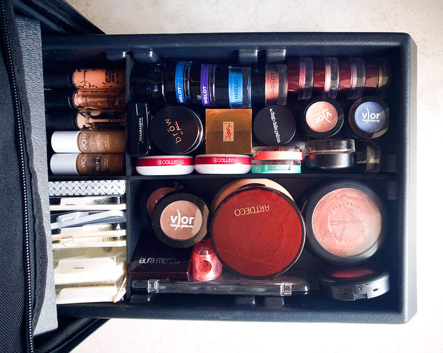 Cassetti make up trolley professionale Cantoni High Box recensioni review