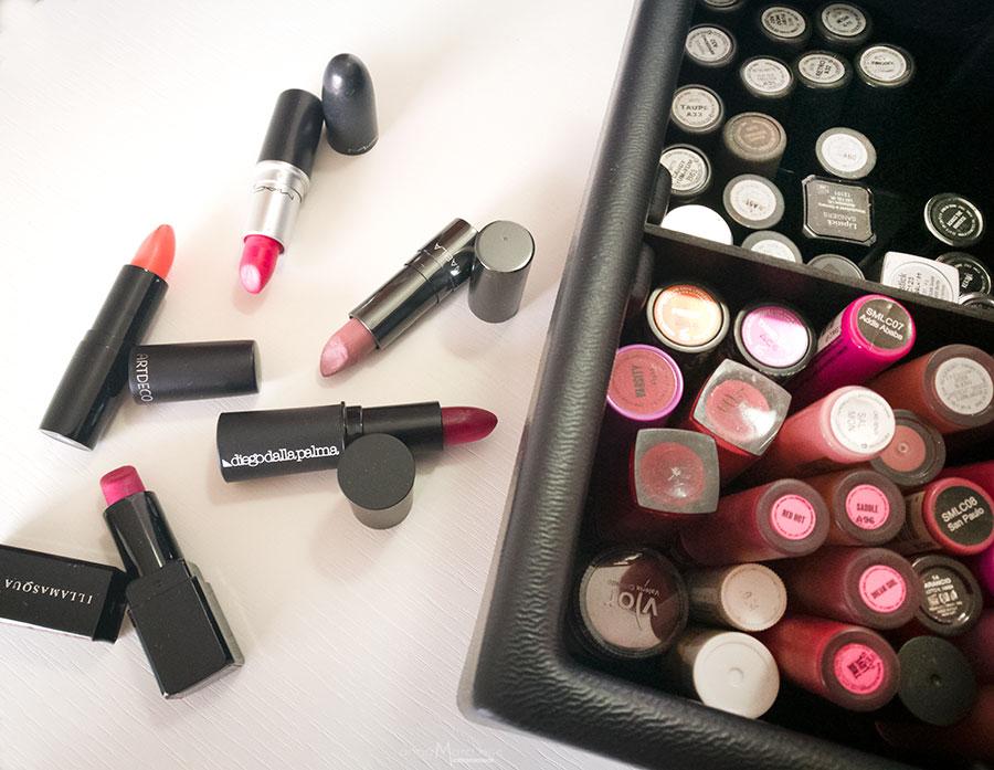 Pro kit Lipstick: Diego Dalla Palma, Illamasqua, Mac Cosmetics, Nabla Cosmetics, Lime Crime, Kryolan...