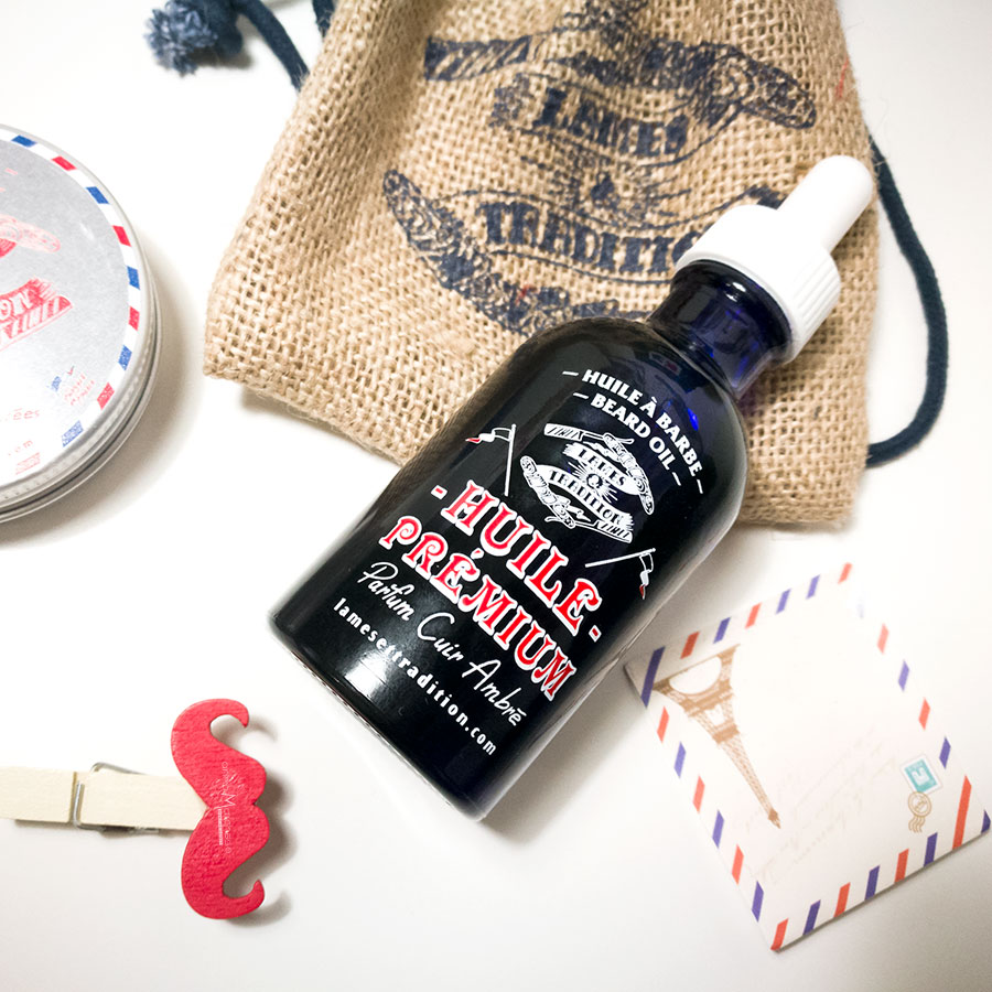 Lames & tradition - Beard Oil - Olio da barba fragranza ambrata