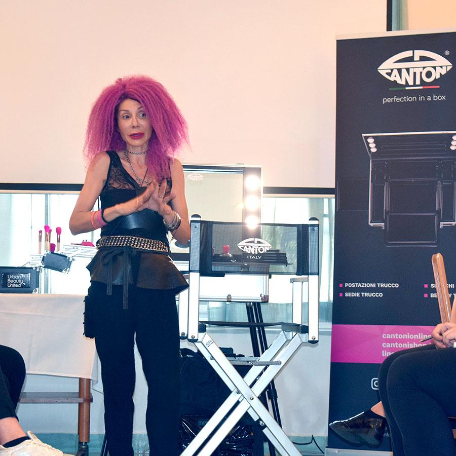 vor make up, valeria orlando, Cantoni make up station e Urban Beauty United a Ischia Fashion Week 2018