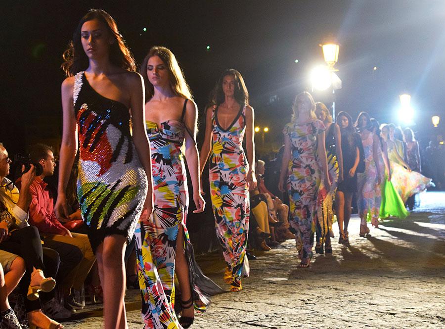 ischia fashion week 2018 castello aragonese
