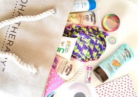 What's in my beach bag: solari e accessori per l'estate 2018
