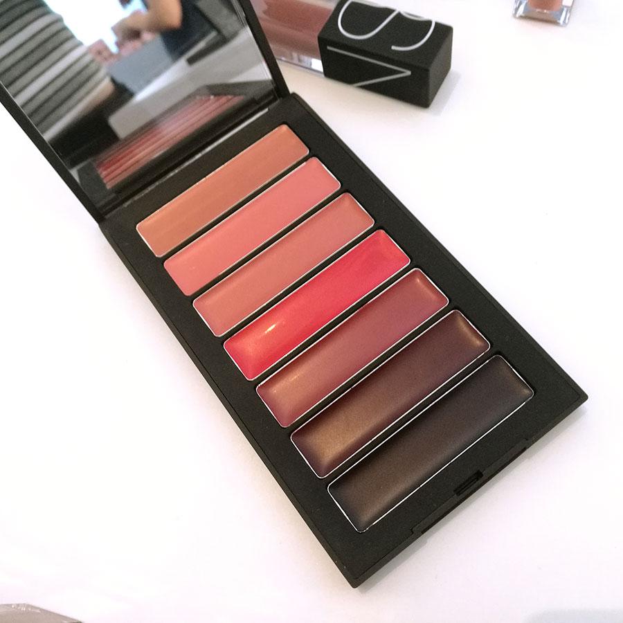 Nars 7 Deadly Sins Audacious Lipstick palette foto
