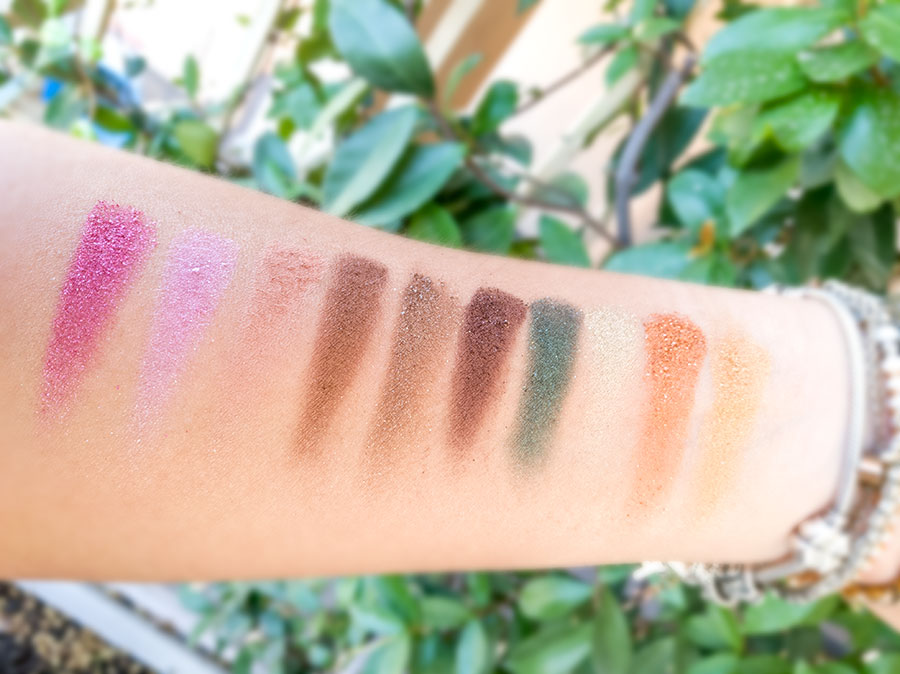 swatch review palette too faced anniversary then and now anniversario