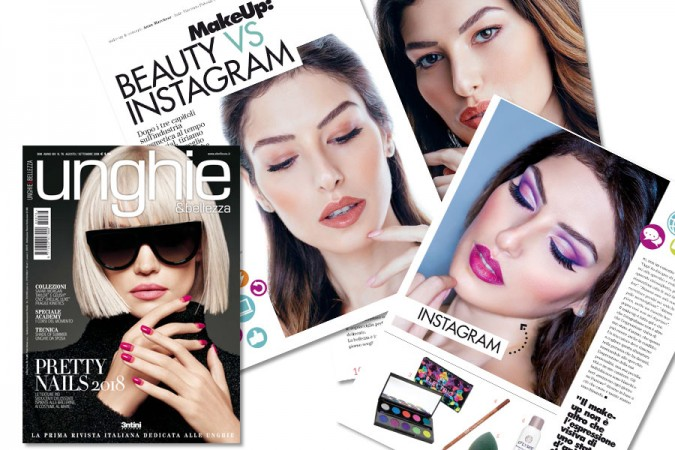 MakeUp Beauty vs Instagram: the editorial