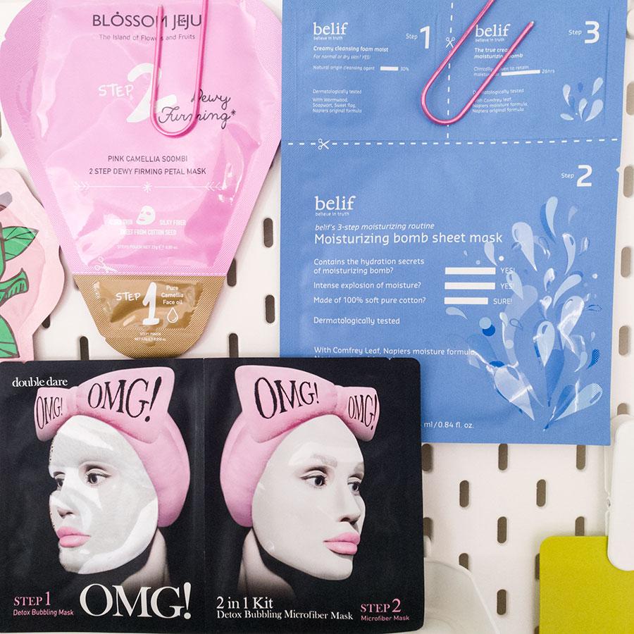 maschere-viso-in-tessuto-bubbling-mask-OMG-Double-dare-spa-blossom-jeju-belif
