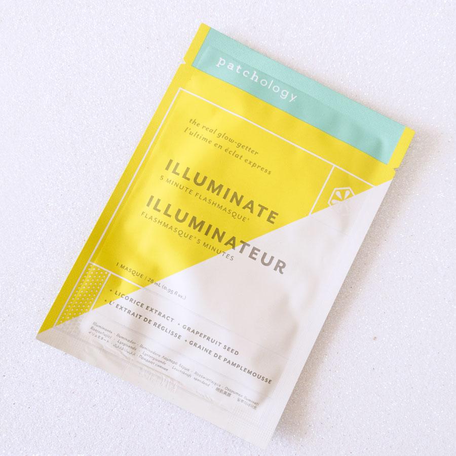 maschera-in-tessuto-illuminante-migliore-recensione-patchology-illuminate-flash-mask-review-recensione