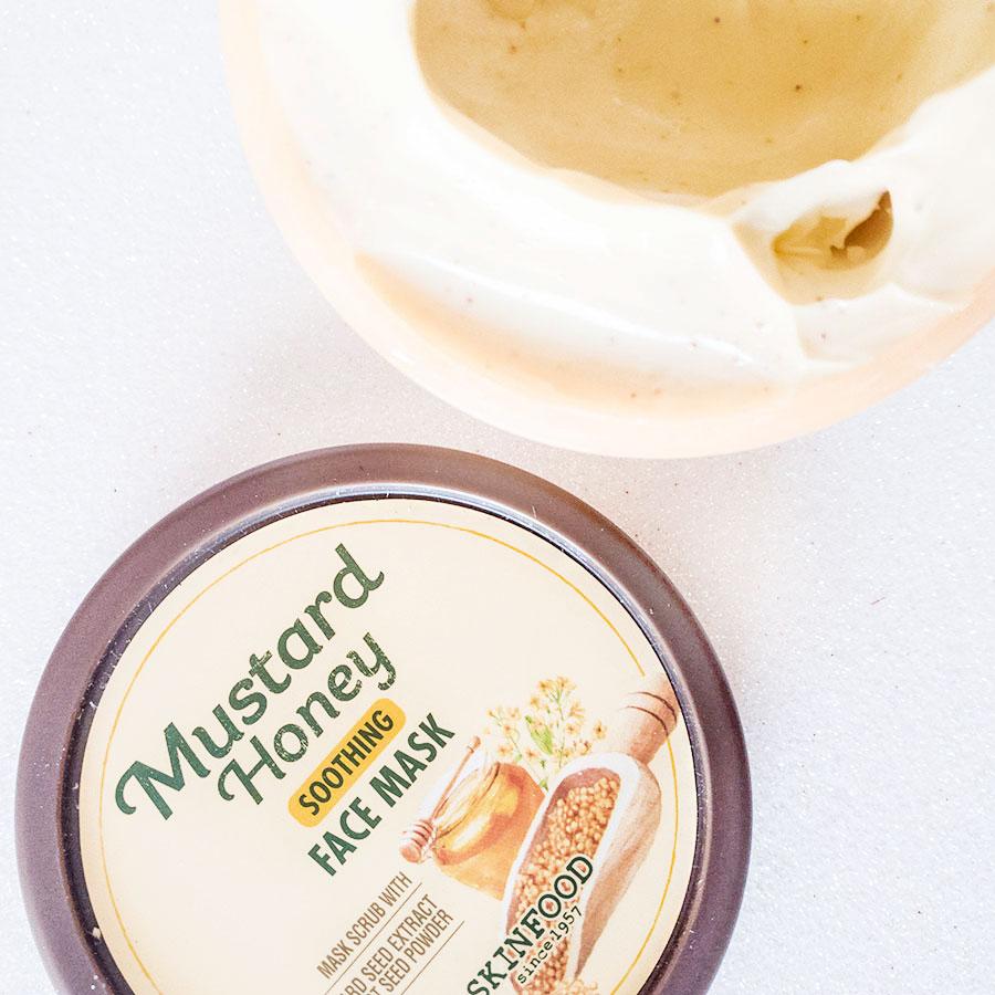 migliore-maschera-viso-esfoliante-sephora-skinfood-honey-mustard-review-recensione