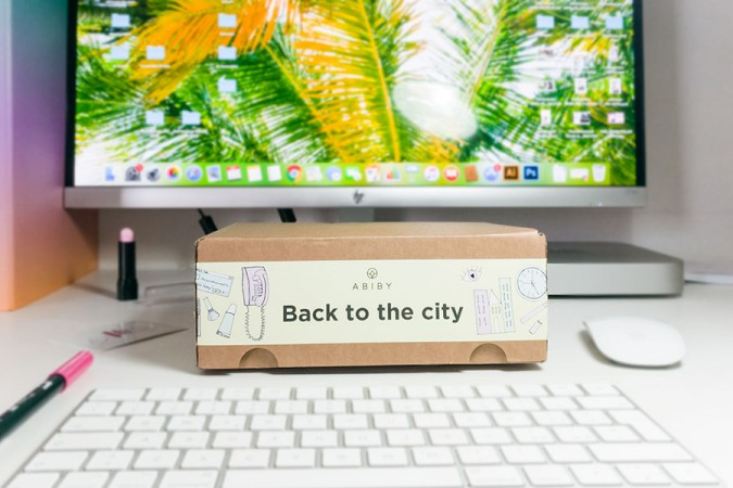 Abiby Back to the City: la beauty box skincare per il rientro in città