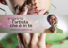 Christmas Party Competition 2018: la nuova edizione del talent per make up artist, nail artist e fashion designer