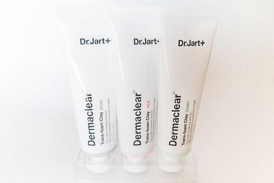 dr-jart-dermaclear-maschera-detergente-viso-recensione-opinioni-argilla-rosa-verde-bianca