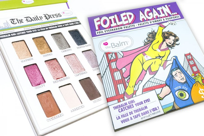 Crossing Review The Balm: Foiled Again palette e Bonnie-Dew Manizer