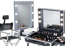 Cantoni Christmas Sales: valigie trucco, specchi illuminati, trolley e bauletti in promo