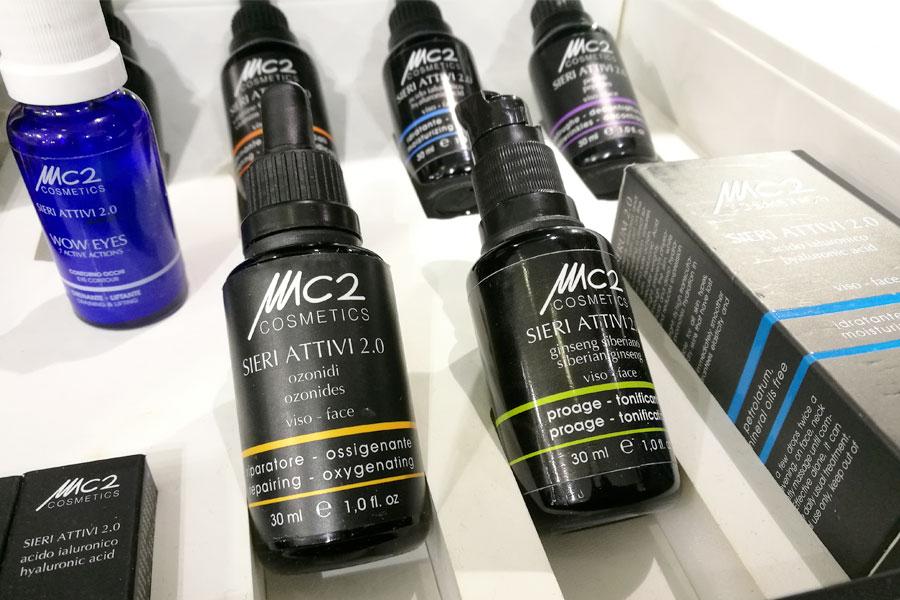novita-skincare-cosmoprof-2019-mc2-detergente-siero-attivo-recensioni-review