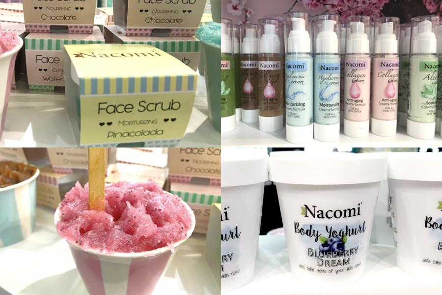 novita-skincare-cosmoprof-nacomi-face-scrub-body-yoghurt-anti-age-cream
