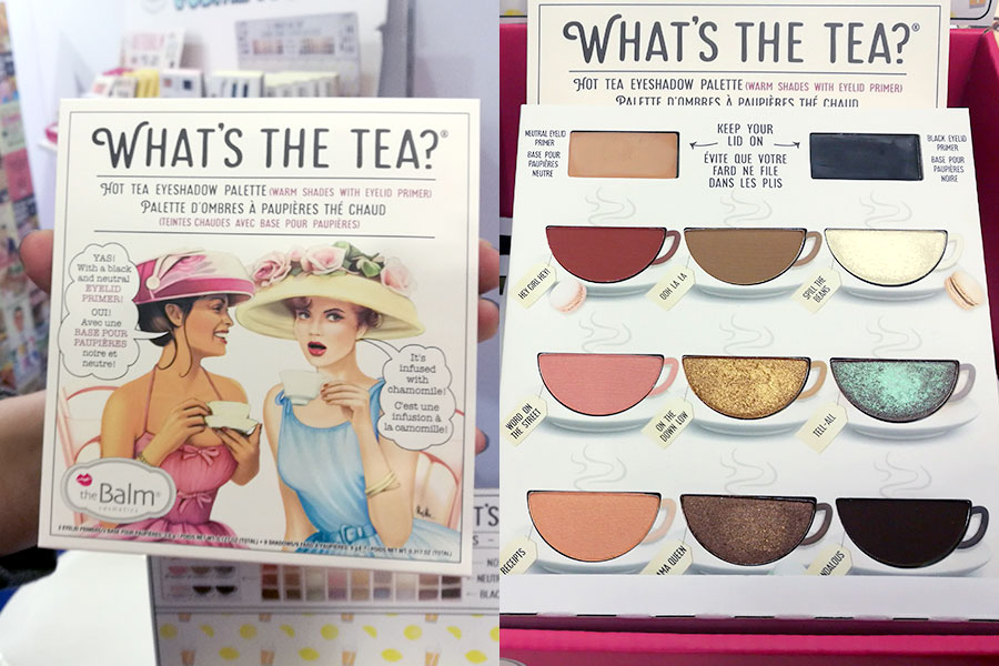 novita-makeup-cosmoprof-2019-the-balm-cosmetics-whats-the-tea-eyeshadow-palette-review