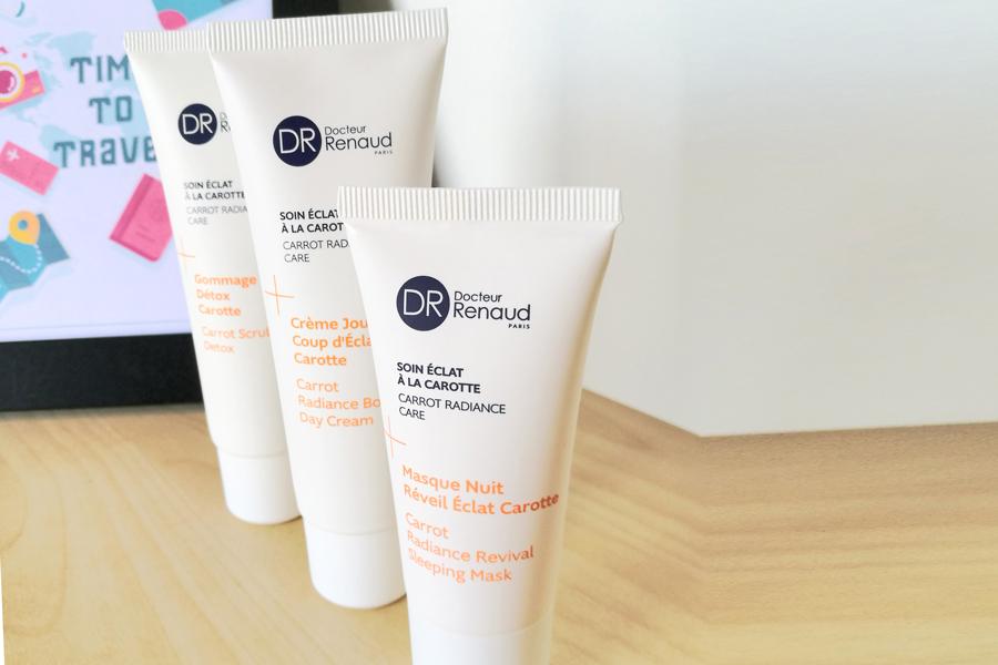 beauty-case-viaggio-skincare-mini-size-formati-dr-renaud-detergente-esfoliante-crema