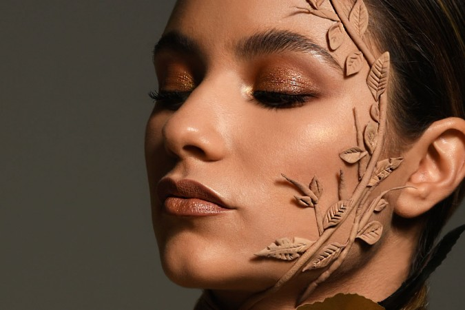 Blossomed from the Earth: inside the editorial look