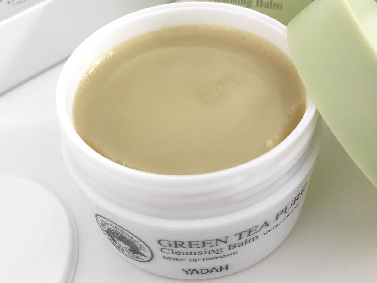 balsamo-struccante-migliore-yadah-green-tea-pure-cleansing-balm