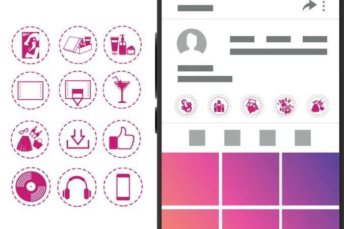 Set di icone da scaricare gratis per gli Highlights delle stories Instagram